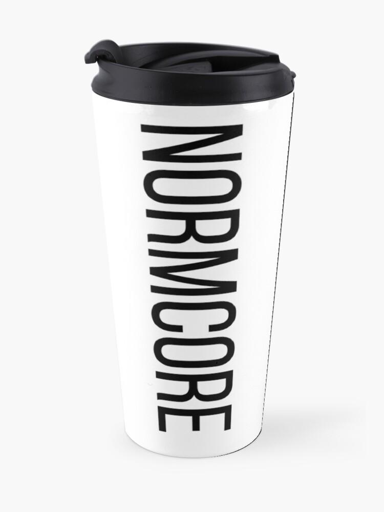 Alternative Ansicht von NORMCORE white HARDCORE NORMAL Thermobecher