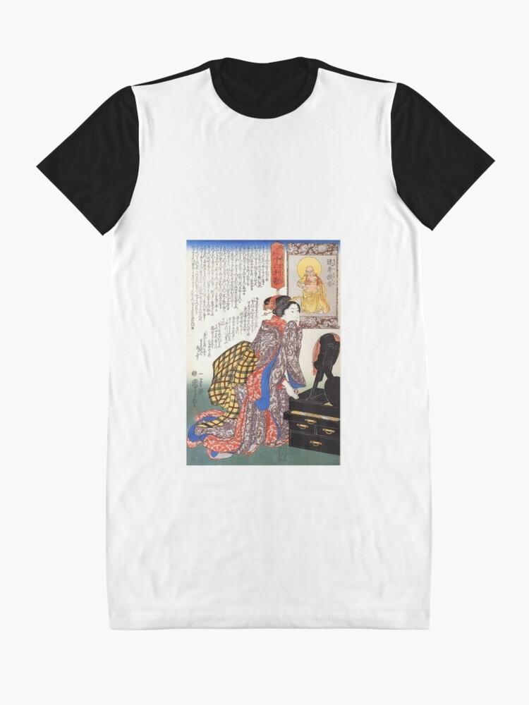 Alternate view of Secrets of beauty Graphic T-Shirt Dress