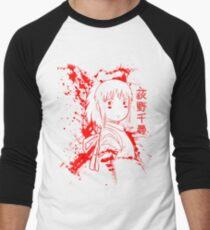 Spirited Ink Scroll Chihiro Men's Baseball ¾ T-Shirt