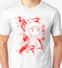 Spirited Ink Scroll Chihiro T-Shirt