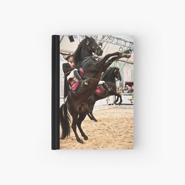Menorcan dressage - Spanish step Hardcover Journal