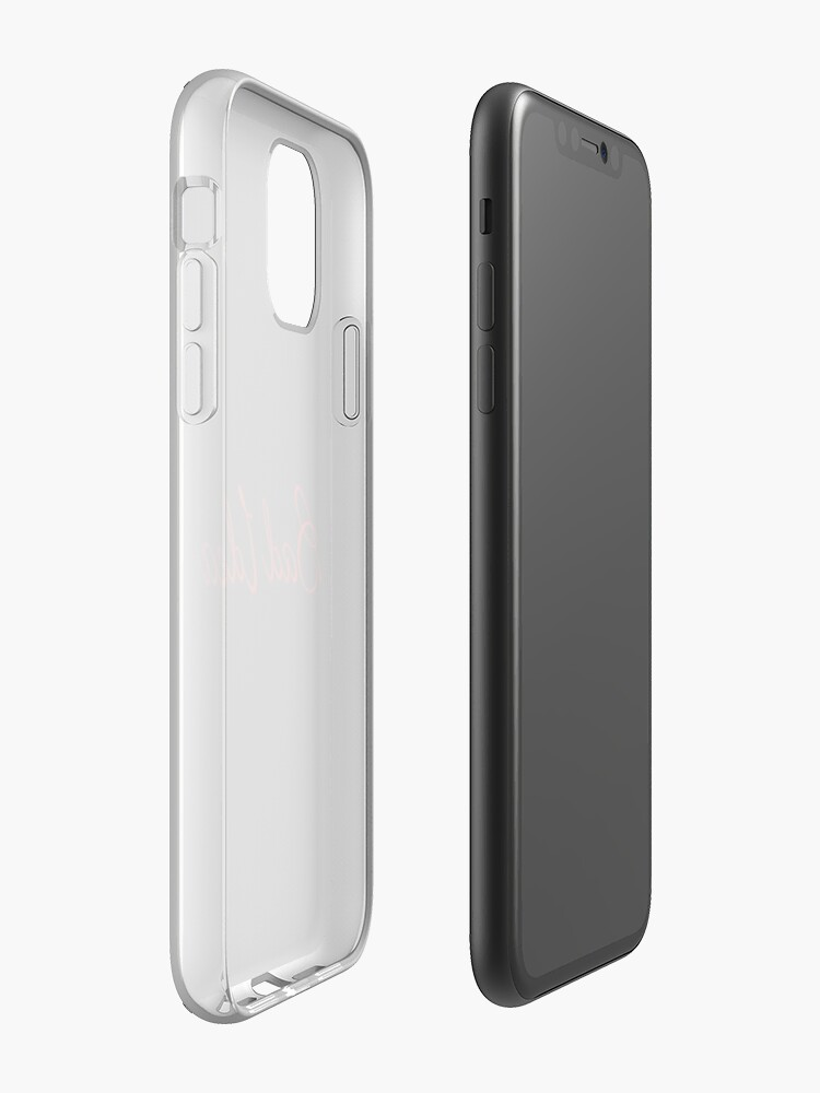 Coque iPhone «Mauvaise idée», par ForgetMeKnot