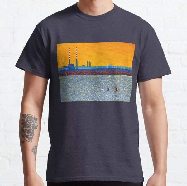 Poolbeg, Kayakers (Dublin, Ireland) Classic T-Shirt
