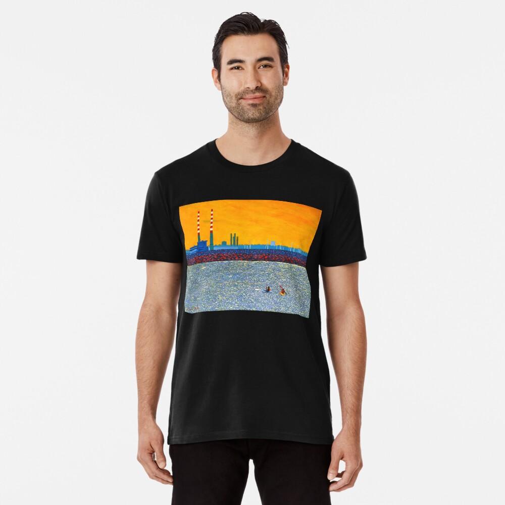 Poolbeg, Kayakers (Dublin, Ireland) Premium T-Shirt