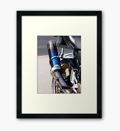 Tail Tipe Too Framed Print