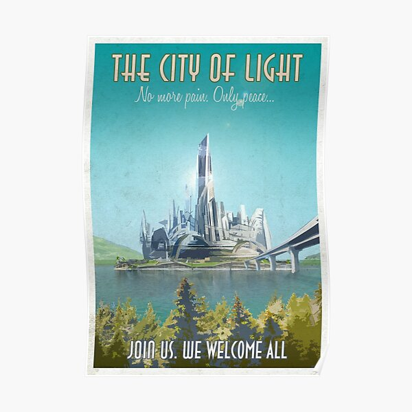 The City Of Light Poster