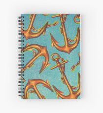 Dicky Bow - Anchors Spiral Notebook