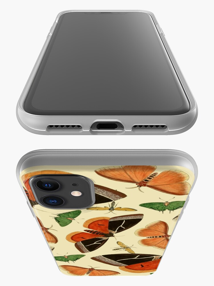 Alternate view of Vintage Butterflies iPhone Case & Cover