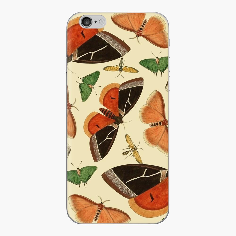 Vintage Butterflies iPhone Skin