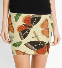 Vintage Butterflies Mini Skirt