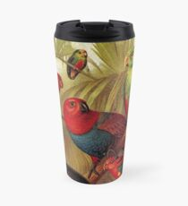 Parrots in the Jungle Travel Mug
