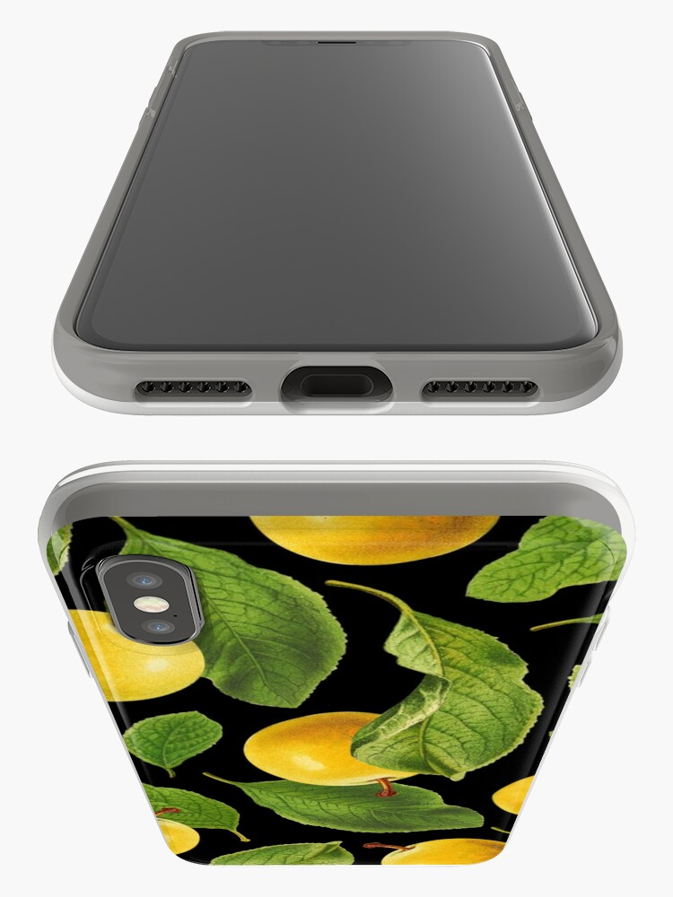 Alternate view of Botanical Vintage Fruit iPhone Case & Cover