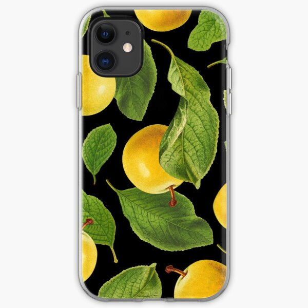 Botanical Vintage Fruit iPhone Soft Case