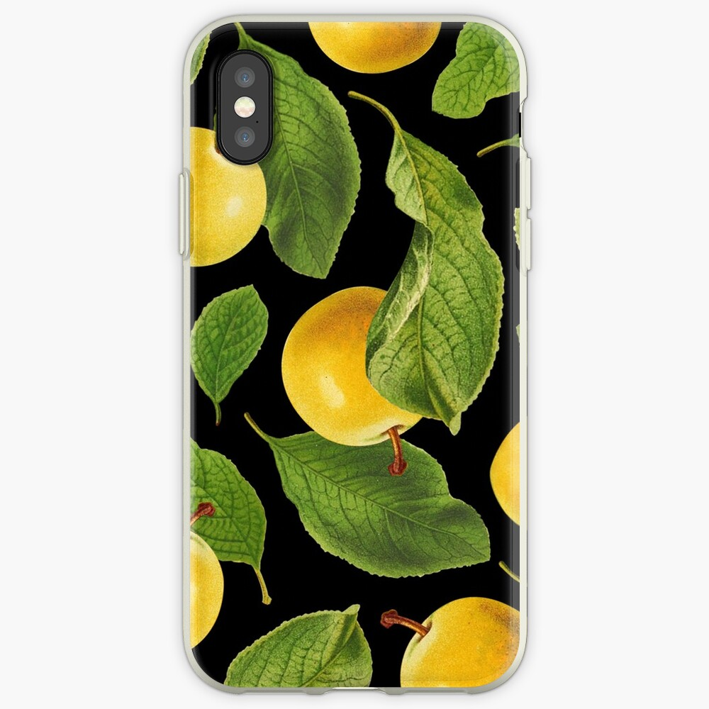 Botanical Vintage Fruit iPhone Case & Cover
