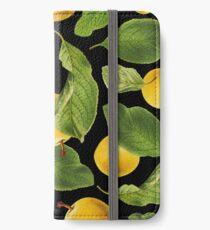 Botanical Vintage Fruit iPhone Wallet/Case/Skin