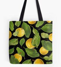Botanical Vintage Fruit Tote Bag