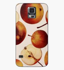 Vintage Apples Print Case/Skin for Samsung Galaxy
