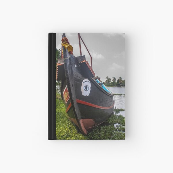 Kerala Backwaters Boat - India Hardcover Journal