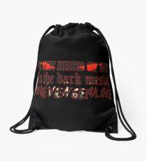 The Vengeful One Drawstring Bag