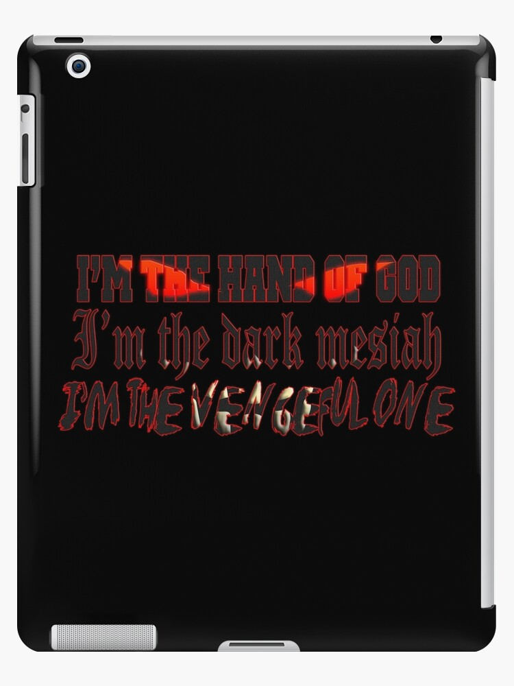 DISTURBED THE VENGEFUL ONE iphone case
