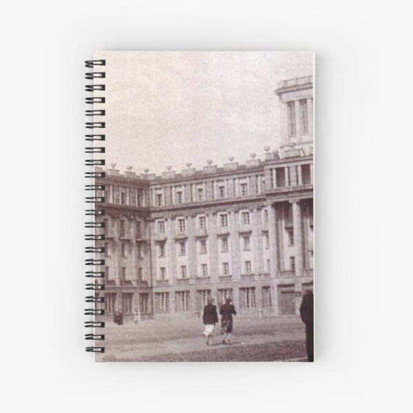 Norillag, #Norilsk #NorilLag #Landmark #Architecture Classical architecture Building Palace History Plaza City old built Spiral Notebook