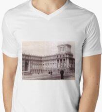#Norilsk #NorilLag #Landmark #Architecture Classical architecture Building Palace History Plaza City old built V-Neck T-Shirt