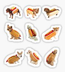 Pegatina Hotdoggos Sticker-pack