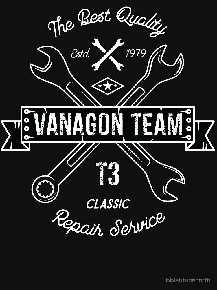 Vanagon Team T3 Repair Service Funny saying quote by 66latitudenorth