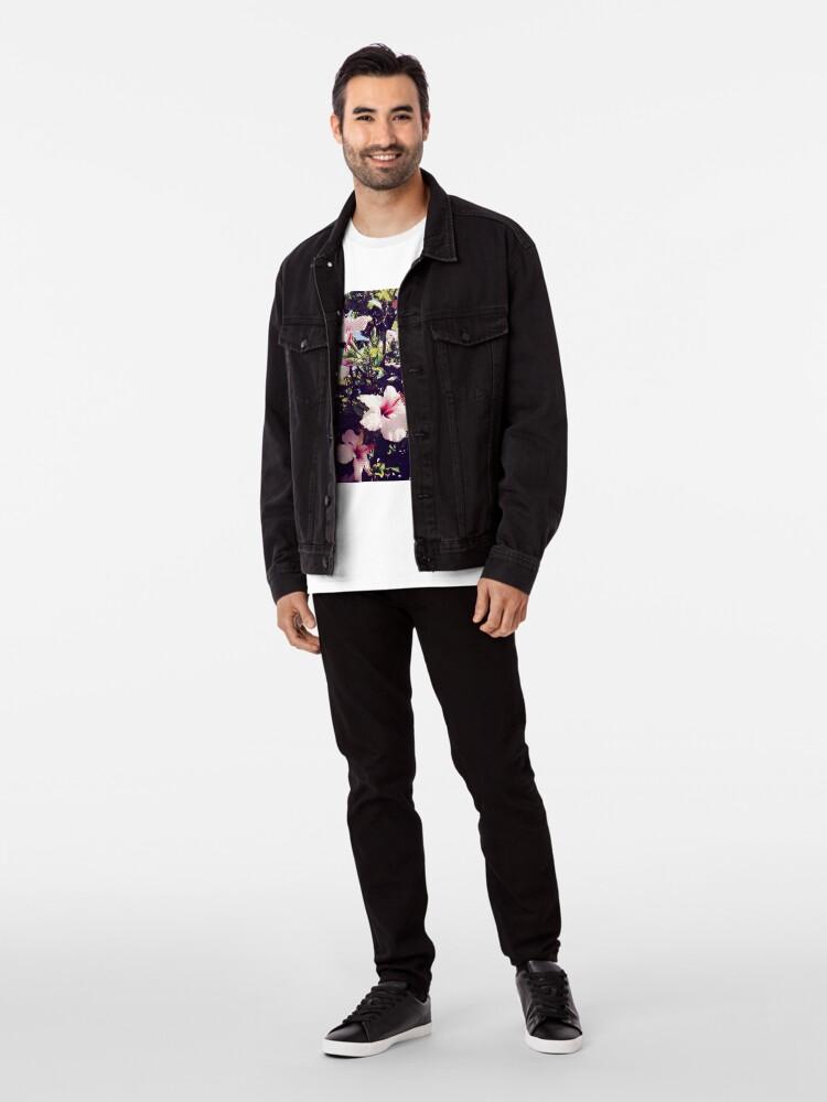 Alternative Ansicht von Ibiscus tropisch Premium T-Shirt