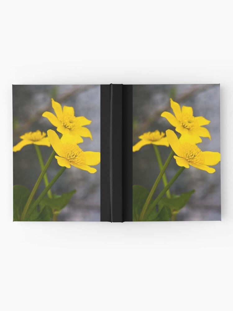 Alternate view of Lesser Celandine (Ranunculus ficaria) Hardcover Journal