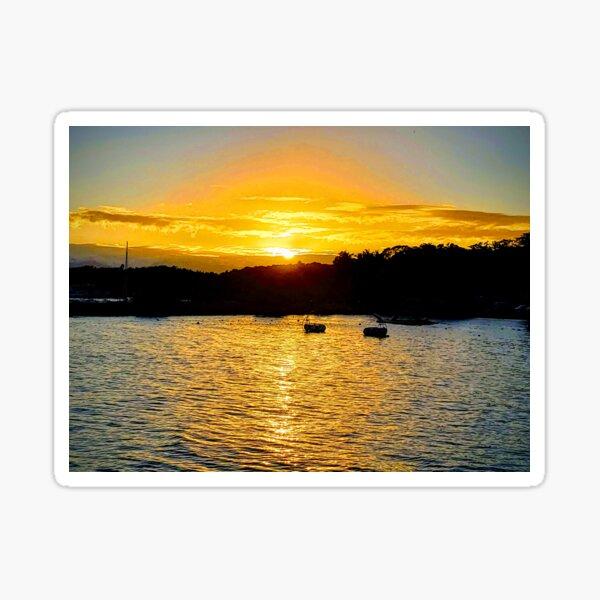 Golden Sunset Sticker