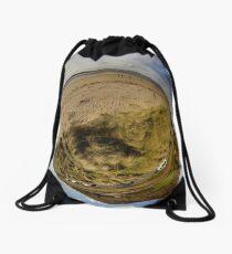 Lisfannon Beach, Fahan, County Donegal, Sky Out Drawstring Bag
