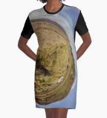 Lisfannon Beach, Fahan, County Donegal, Sky Out Graphic T-Shirt Dress