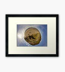 Lisfannon Beach, Fahan, County Donegal, Sky Out Framed Print