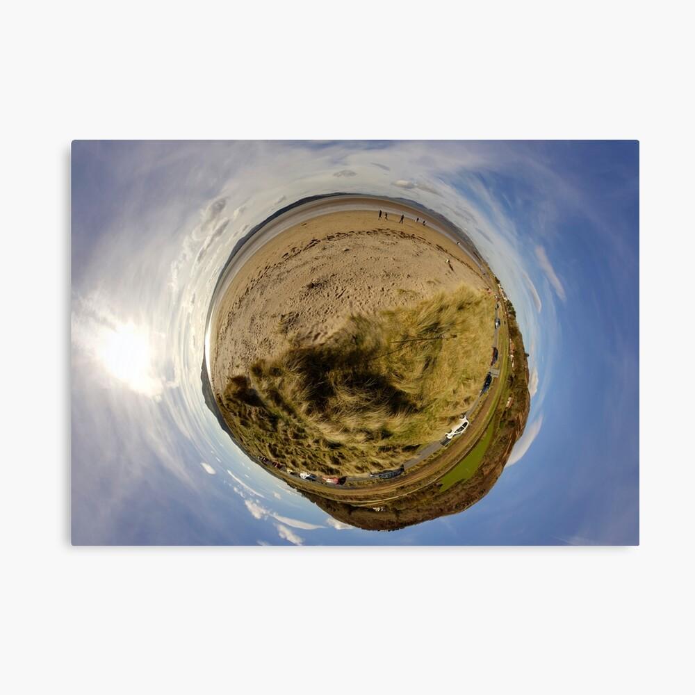 Lisfannon Beach, Fahan, County Donegal, Sky Out Canvas Print