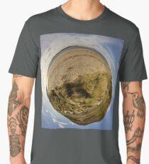 Lisfannon Beach, Fahan, County Donegal, Sky Out Men's Premium T-Shirt