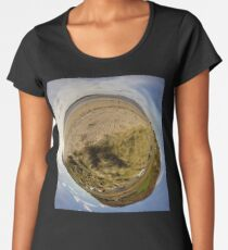 Lisfannon Beach, Fahan, County Donegal, Sky Out Women's Premium T-Shirt