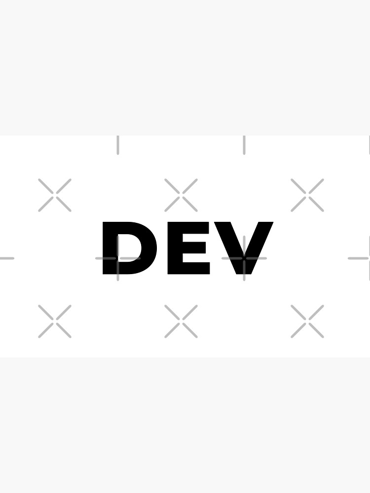 Dev (Inverted) by developer-gifts