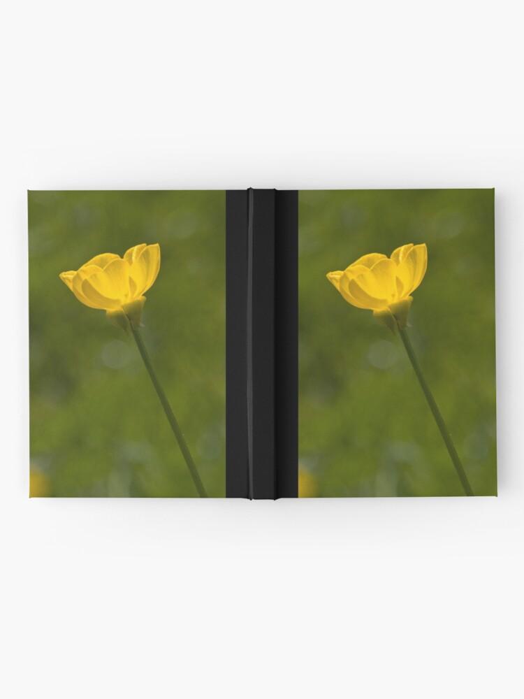 Alternate view of Bulbous Buttercup (Ranunculus bulbosus) Hardcover Journal