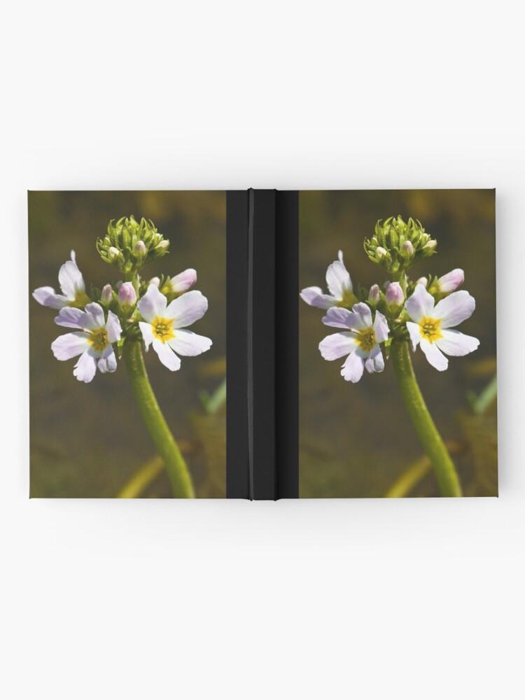 Alternate view of Water Violet (Hottonia palustris) Hardcover Journal