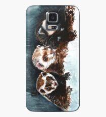 Three Sleepy Ferrets Funda/vinilo para Samsung Galaxy