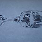 Glass, Reflecting. by tonyanicole