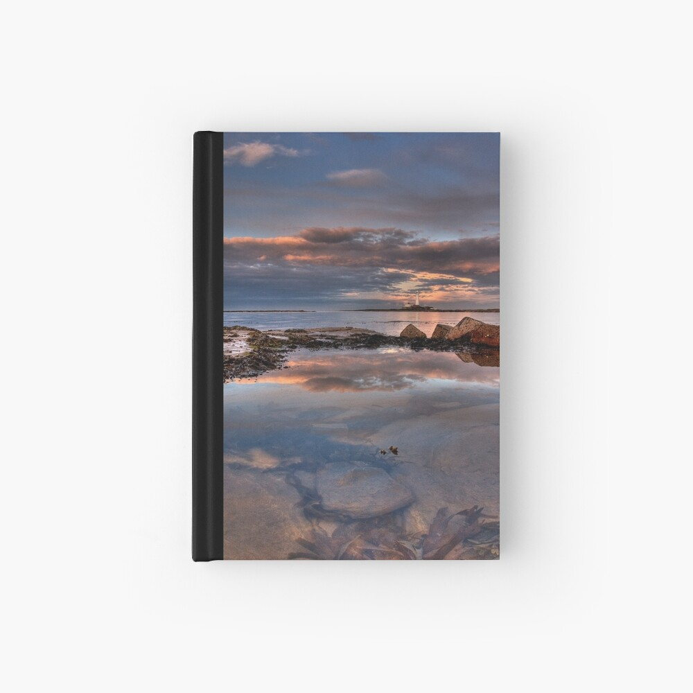 Water reflections Hardcover Journal
