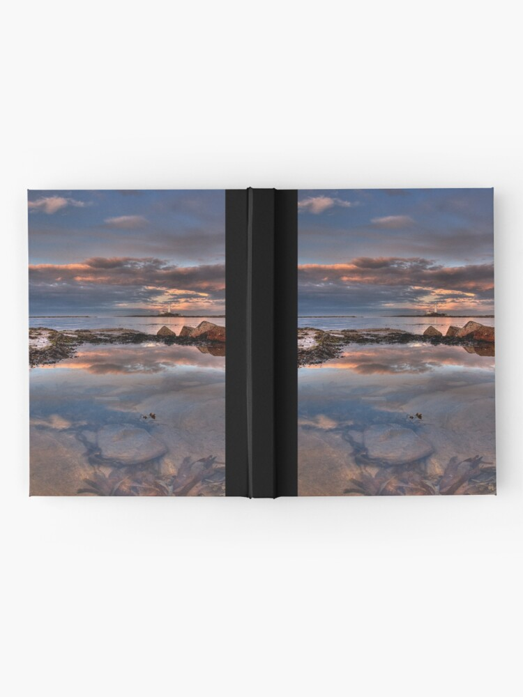 Alternate view of Water reflections Hardcover Journal