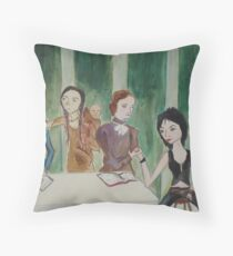 Last Supper Detail Throw Pillow