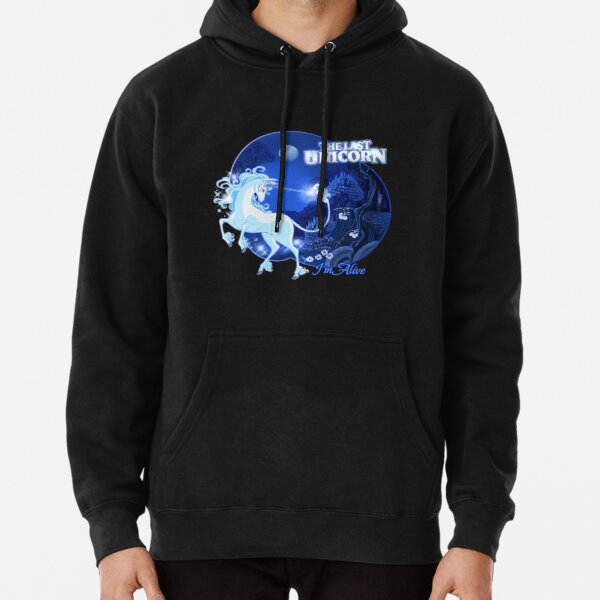 I'm Alive - Blue Pullover Hoodie