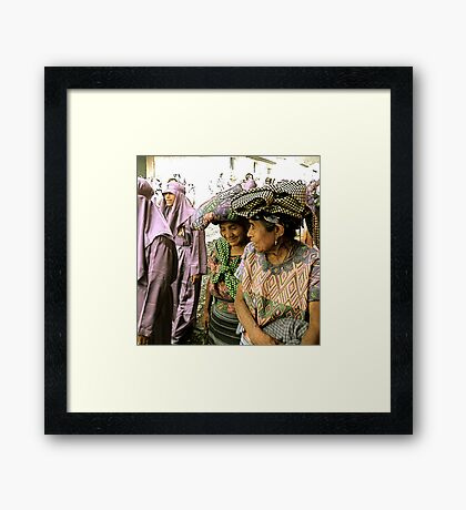 Ladies on a Walk Framed Print