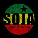SOJA Soldier of Jah Army Circle by LionTuff79