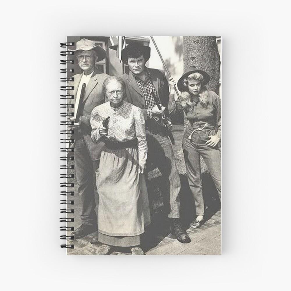 Beverly Hillbillies Spiral Notebook