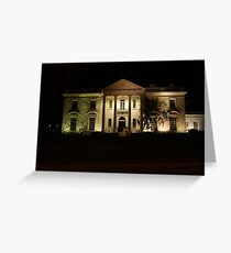 Governors Mansion Greeting Card